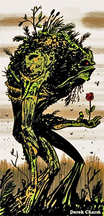 Swamp Thing by Derek Charm #swampthing #dccomics #comic