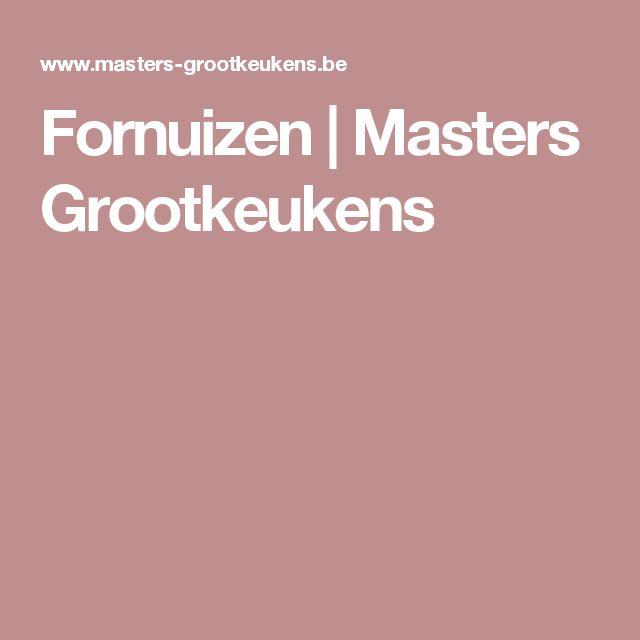 Fornuizen | Masters Grootkeukens