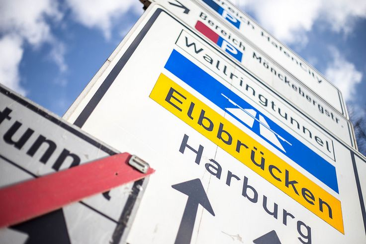 Straßenschild Lombardsbrücke