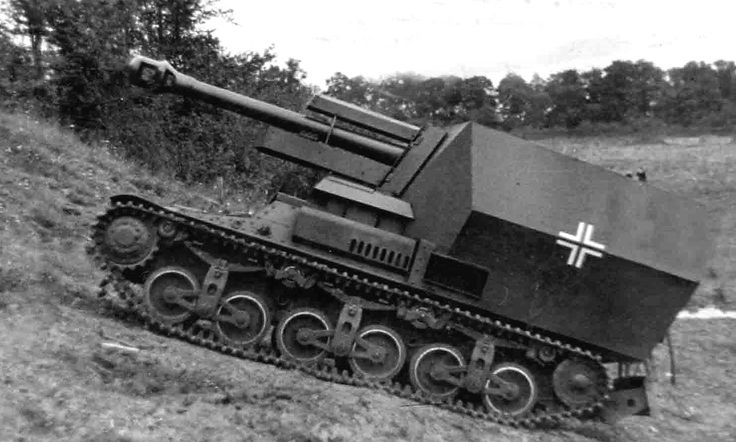 LeFH-18(Sf): Geschuetzwagen Lorraine Schlepper (f): By the time France surrendered in 1940, a total of 432 Lorraine 37L armored supply tractors had been produced. In 1942 the company Alkett near  Berlin, converted 12 Lorraine 37L tractors into 10.5cm leFH-18/40 auf Geschuetzwagen Lorraine Schlepper(f) self-propelled artillery guns. German Army Major Alfred Becker and his men converted a further 12.