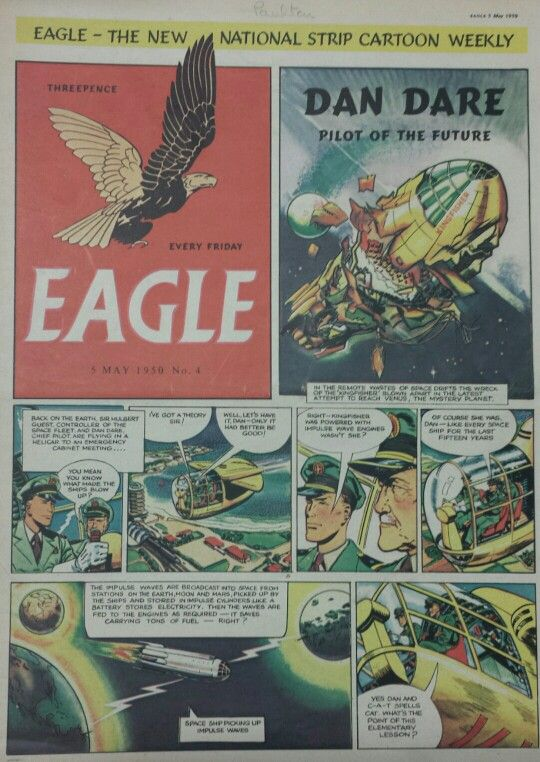 Dan Dare from Eagle Comic #4