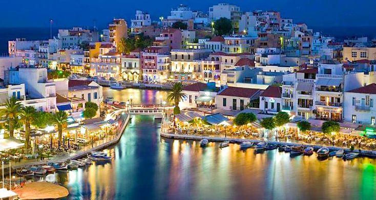 Ayos Nikolaos, Girit Adası