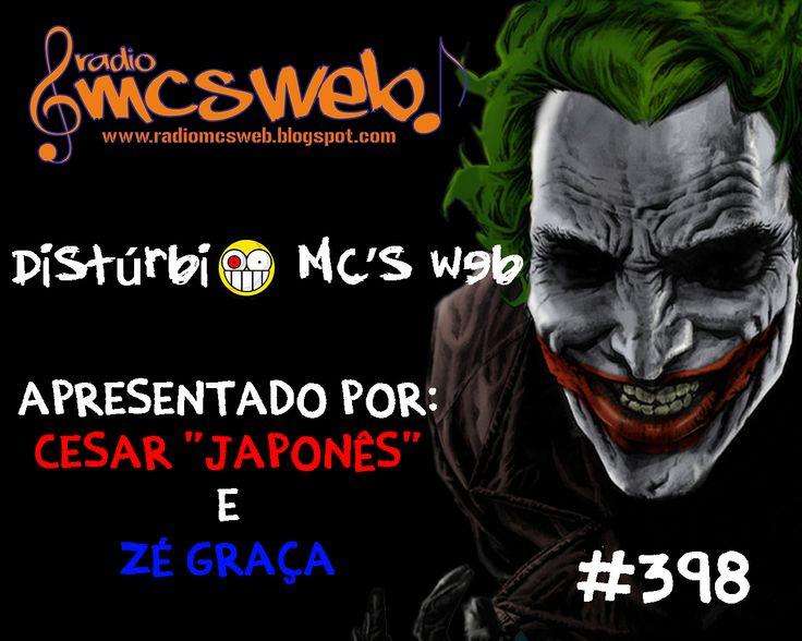 #398 Distúrbio MC's Web http://radiomcsweb.blogspot.com.br/2014/11/398-disturbio-mcs-web.html