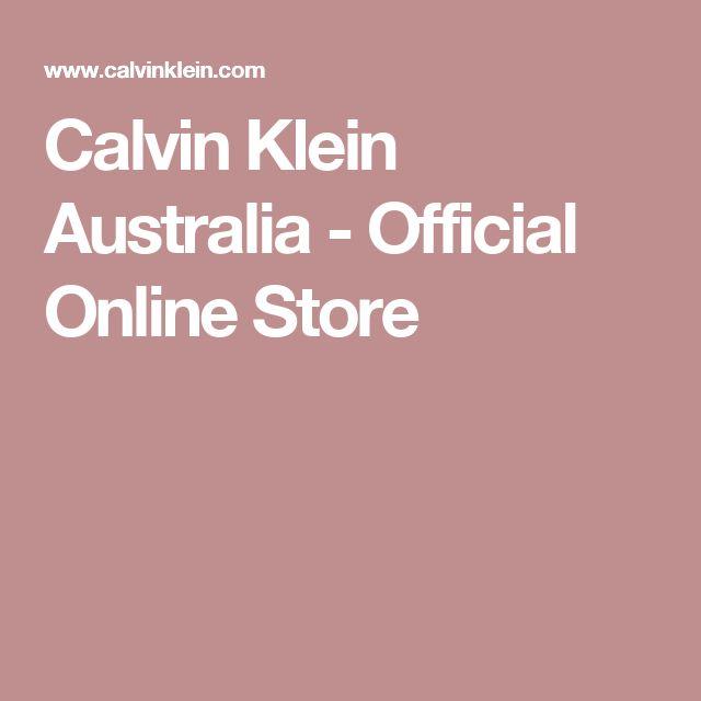 Calvin Klein Australia - Official Online Store