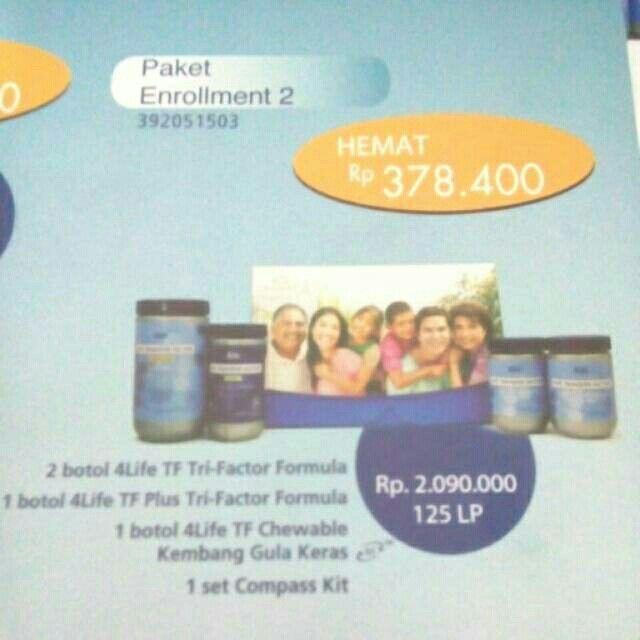 Saya menjual 4Life Transfer Factor Enrol 2 seharga Rp2.125.000. Dapatkan produk ini hanya di Shopee! http://shopee.co.id/4lifemedan/1919495 #ShopeeID