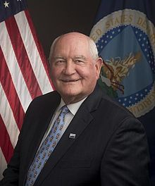 Sonny Perdue, Secretary of Agriculture.