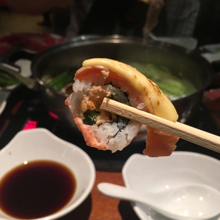 I scream for sushi