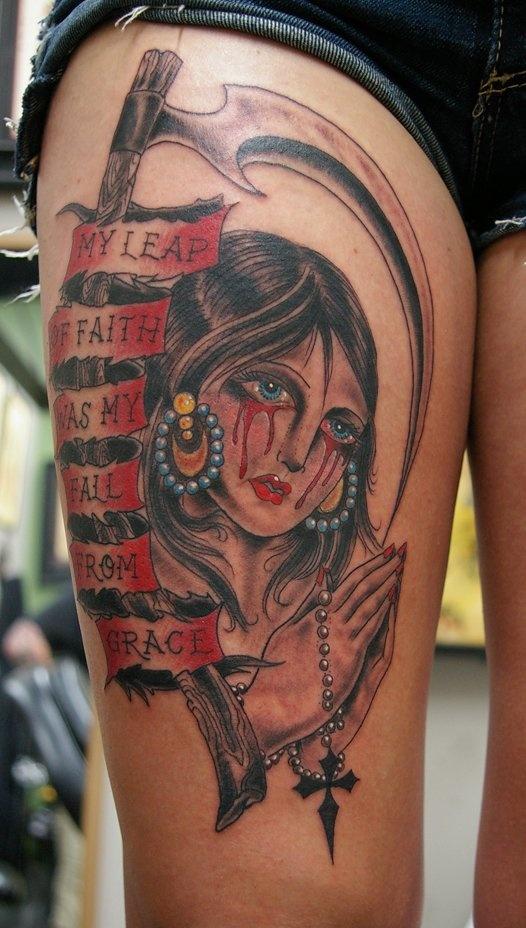 Tattoo By Gabe Garcia Iron Tiger Tattoo