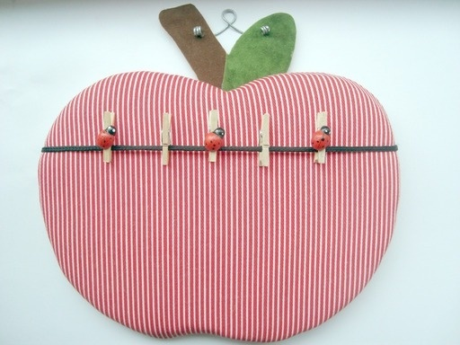 Apple Peg Board  (red and white) sale of the day item £3.50