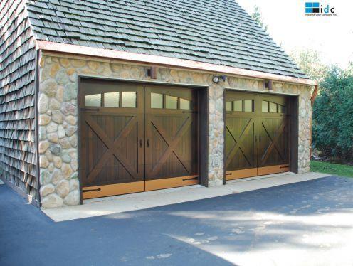 15 best Rustic Garage Doors images on Pinterest | Wood garage doors ...