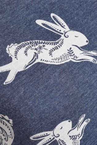 Buy Blue Jersey Printed Pyjamas from the Next UK online shop