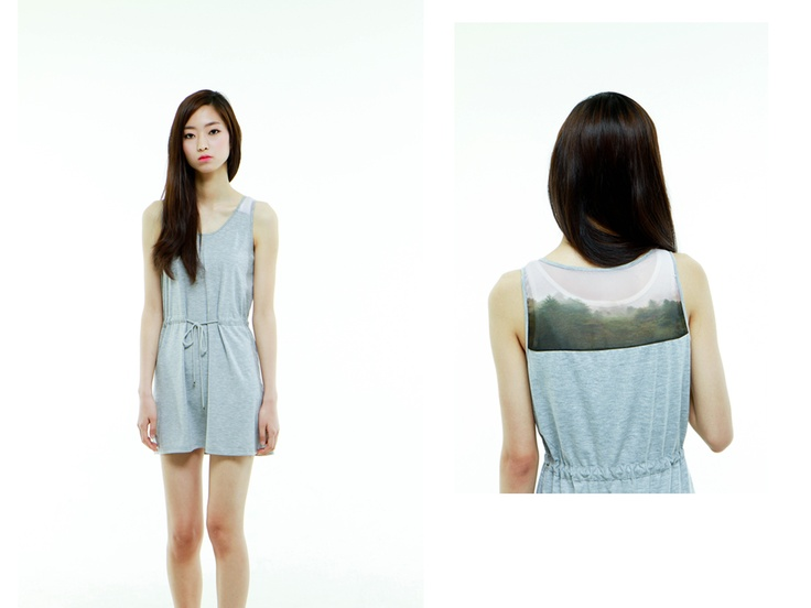 al,thing - Digital print jersey onepiece
