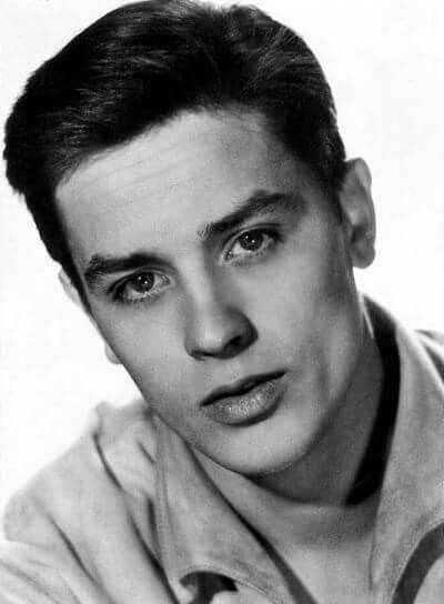 Very young Alain Delon