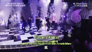 大野智主演ドラマ「鍵のかかった部屋」の主題歌 嵐が歌うFace DownのGIF動画 created by COCO