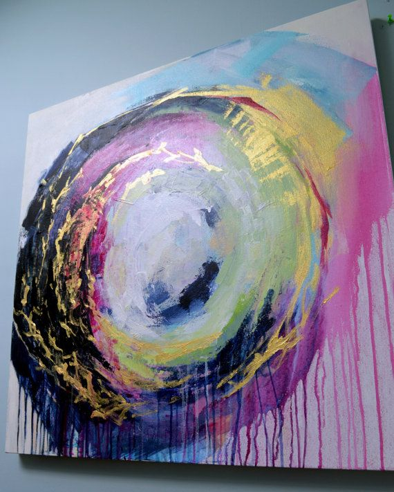 LARGE ORIGINAL abstract painting colorful painting by MossAndBlue Be Sure To Visit: http://universalthroughput.imobileappsys.com/