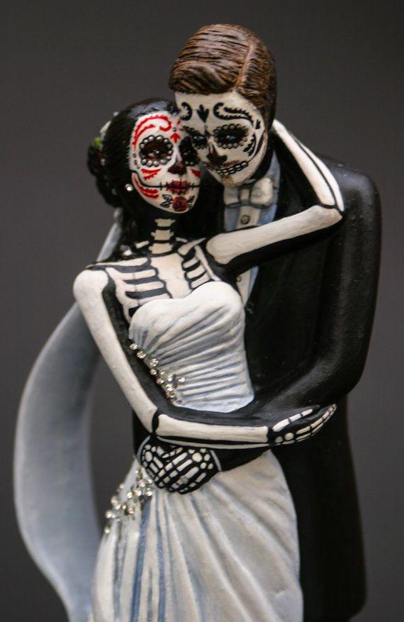 1000 images about sugar skulls on pinterest for Sugar skull wedding dress