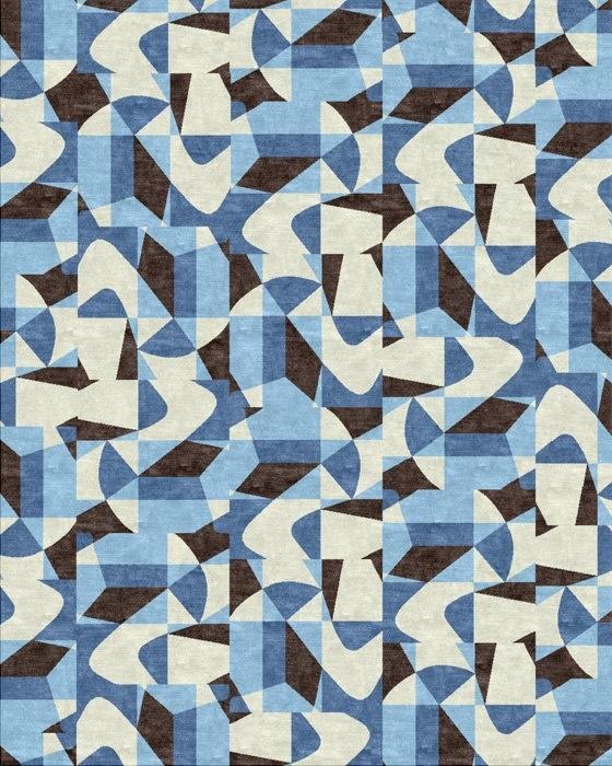 Rug by Paulo Werneck   Os desenhos de paulo werneck saem das paredes e estampam os tapetes da americana kravet.
