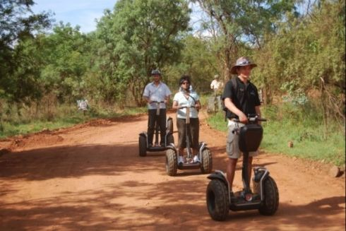 Segway Tours in Sun City - Make your way around the glitz and glamour of the luxury resort of Sun City on a Segway Tour. It is easy to drive a Segway PT (personal transporter). This two wheeled, self balancing, battery powered electric vehicle is an ideal way to see the sights and sounds. Unlike the nightlife, the pace is not in the fast lane, but it is an enjoyable way to discover the beauty of one of South Africa's favourite party destinations.