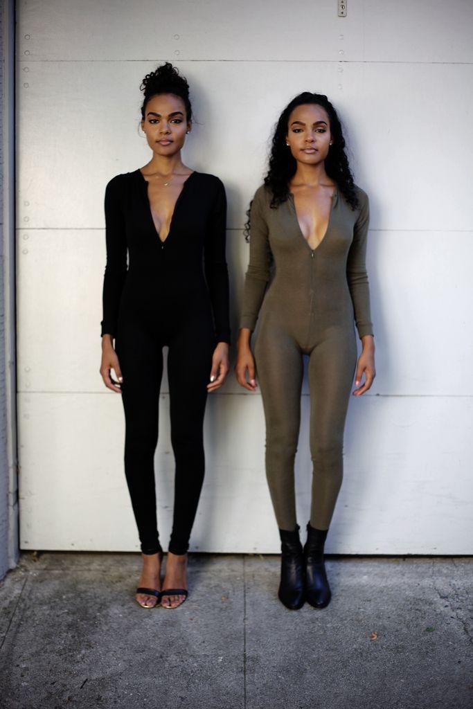 Full Body Suit in Black