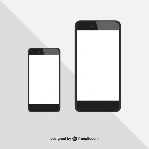 Iphone Sizes Vector Free Vector Free Iphone 6 Vector Free