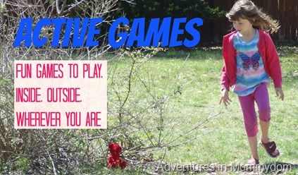 Active Games and Outdoor Games. Also some indoor ideas too. Lots of good links