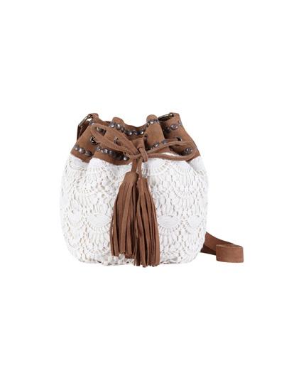 Produto: Bolsa tipo saco pele combinada