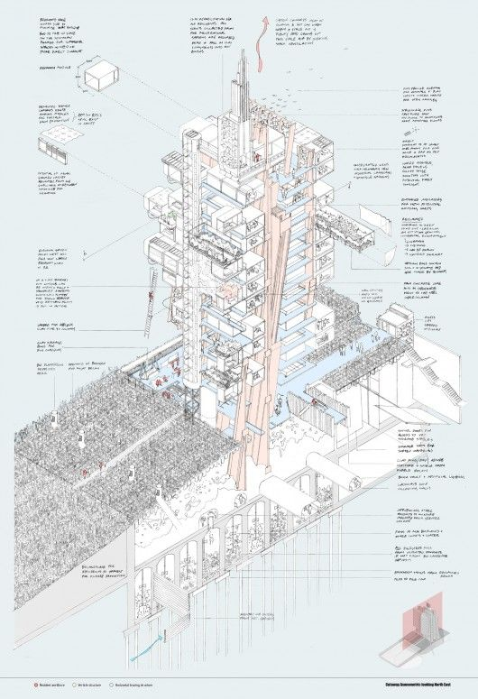 RIBA Silver Medal: Nick Elias (Bartlett School of Architecture). Image Courtesy of RIBA