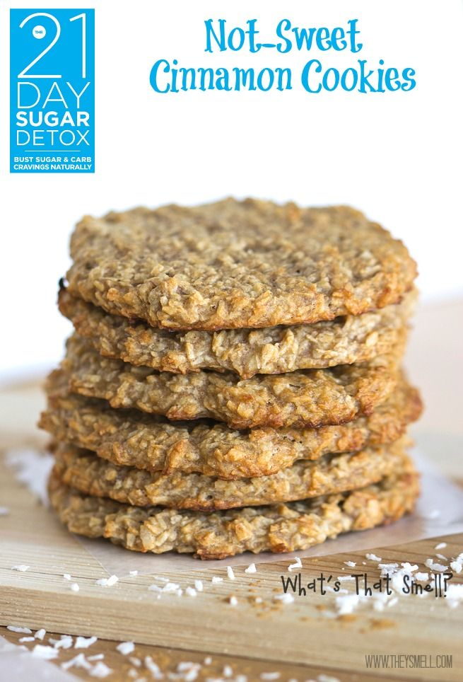 The 21 Day Sugar Detox Cookie Recipe