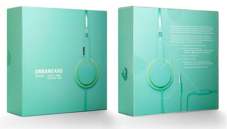 Urbanears headphone box design - Doobybrain.
