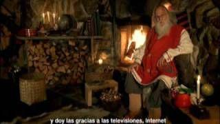 Mensaje de Papa Noel a los niños, via YouTube.