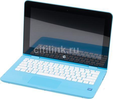 "Ноутбук-трансформер HP Stream x360 11-aa000ur, 11.6"", Intel Celeron N3050, 1.6ГГц, 2Гб, 32Гб SSD, Intel HD Graphics , Windows 10, голубой [y7x57ea]  — 17690 руб. —  экран: 11.6""; cенсорный экран; разрешение экрана: 1366х768; тип матрицы: IPS; процессор: Intel Celeron N3050; частота: 1.6 ГГц (2.16 ГГц, в режиме Turbo); память: 2048 Мб, DDR3L, 1600 МГц; SSD: 32 Гб; Intel HD Graphics ; WiFi;  Bluetooth; HDMI; WEB-камера; Windows 10"