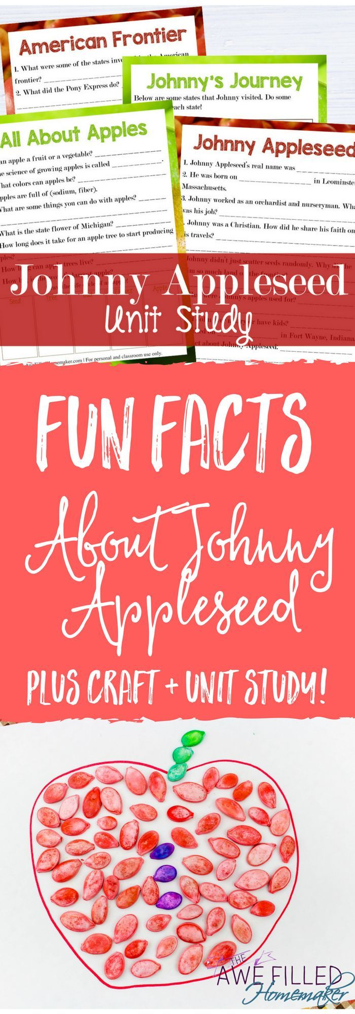 Workbooks Johnny Appleseed Worksheets Kindergarten Free
