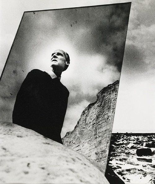 Bill Brandt, Self Portrait with Mirror, East Sussex Coast, 1966