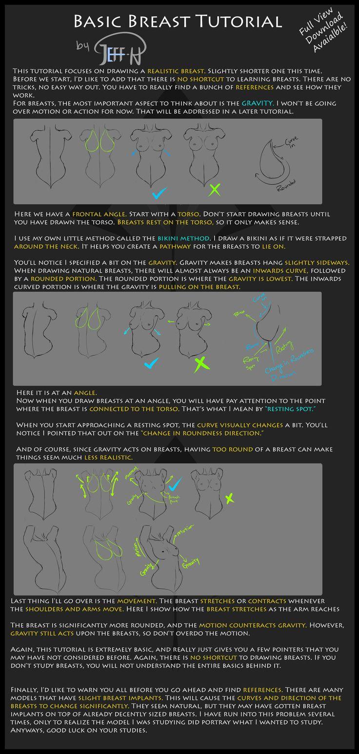 Basic Boob Tutorial by Jeff-H.deviantart.com on @deviantART