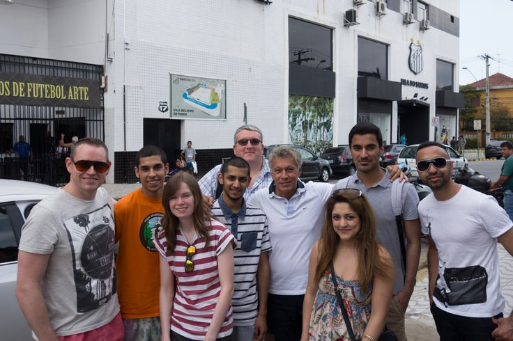 Our #DMUglobal project gives students the opportunity to have an international experience as part of their studies. A group of students recently went on a study trip to Brazil where they were lucky enough to meet the legendary midfielder Clodoaldo, whose mazy dribble past four players set up 'the greatest goal of all time' (click the pic to watch it!) in the 1970 World Cup Final against Italy #brazil #worldcup2014 #worldcup #football