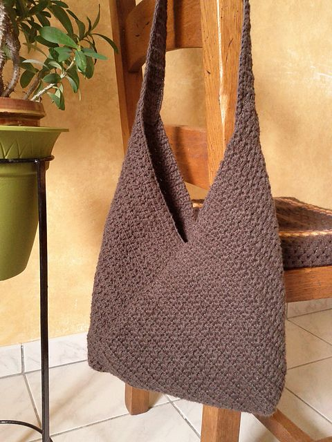 Ravelry: Project Gallery for Masa Bag pattern by Lisa Risager
