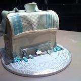 luiertas taart babyshower cake