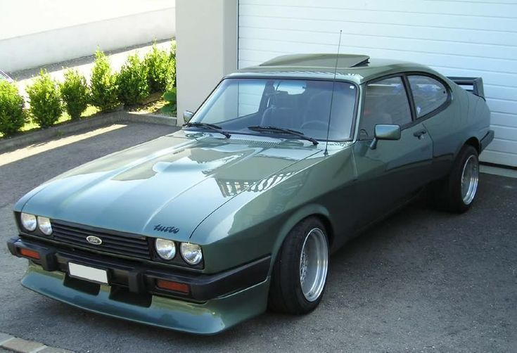 1982 Ford Capri Mk III Turbo 2,8 litre.