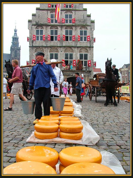 Cheese Market - Gouda, Zuid Holland  A MUST IF YOU STAY WITH MY FAMILY THERE. AND, you must get a picture taken dressed in the traditional garb - regardless of your age!!!