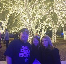 making memories under the lights at the PEC campus trees