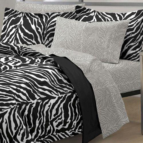 Found it at Wayfair - Zebra Bed Set