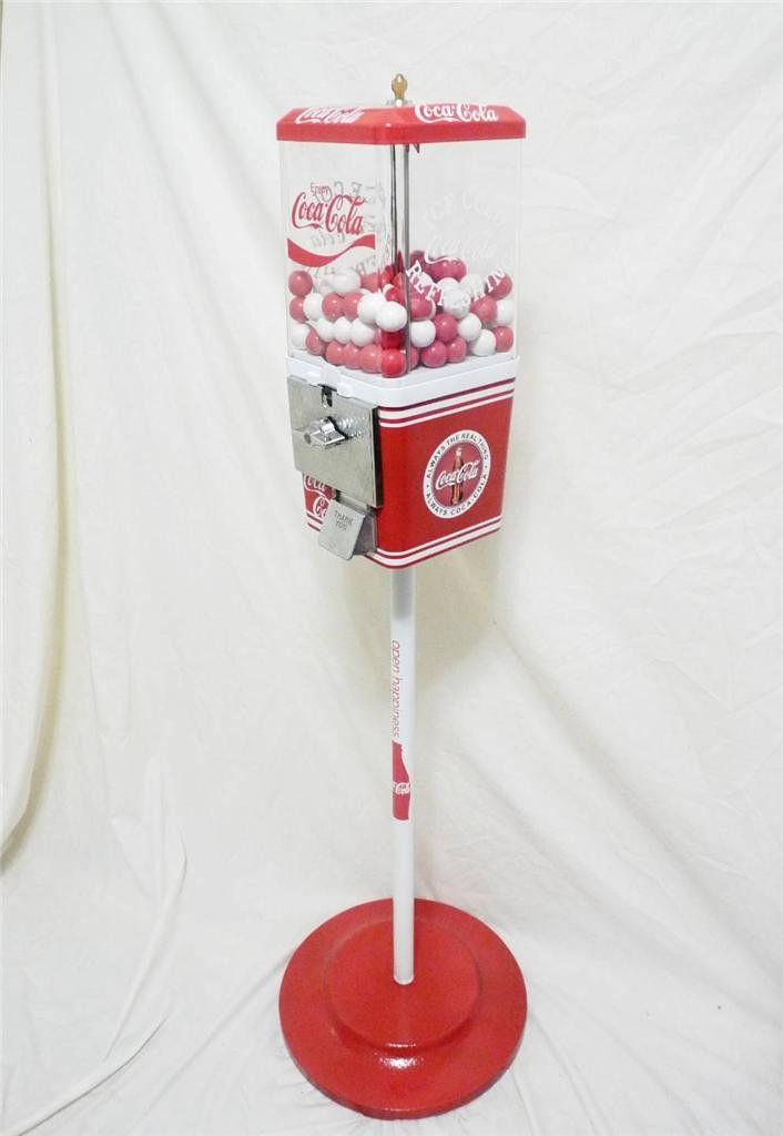 coke gumball machine