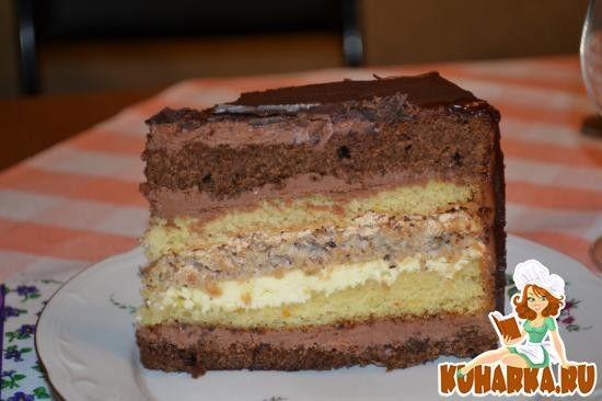 """Если Вы любите конфеты """"Метеорит"""", кофе и шоколад - то этот торт для Вас..."""