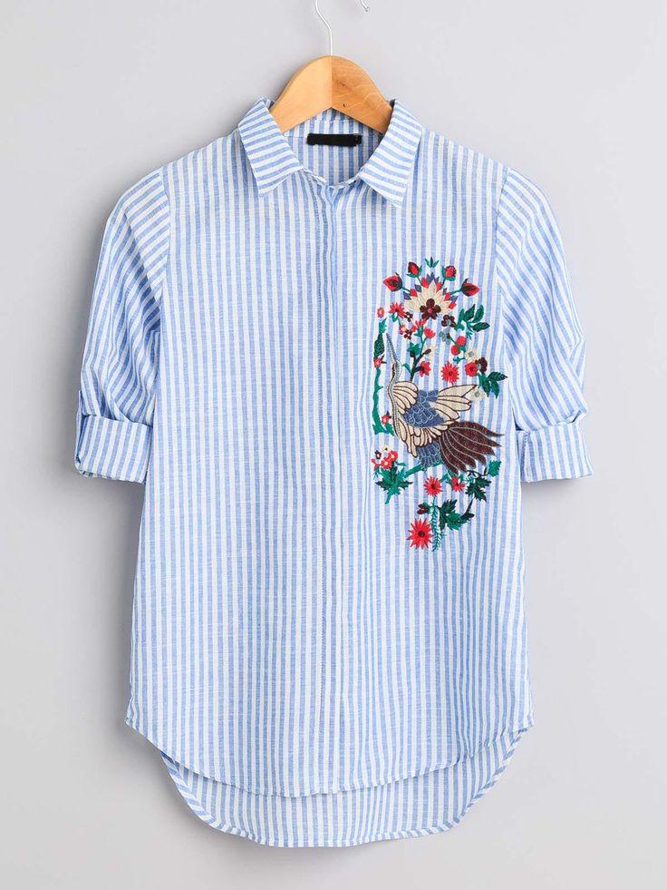 Koszula z haftem