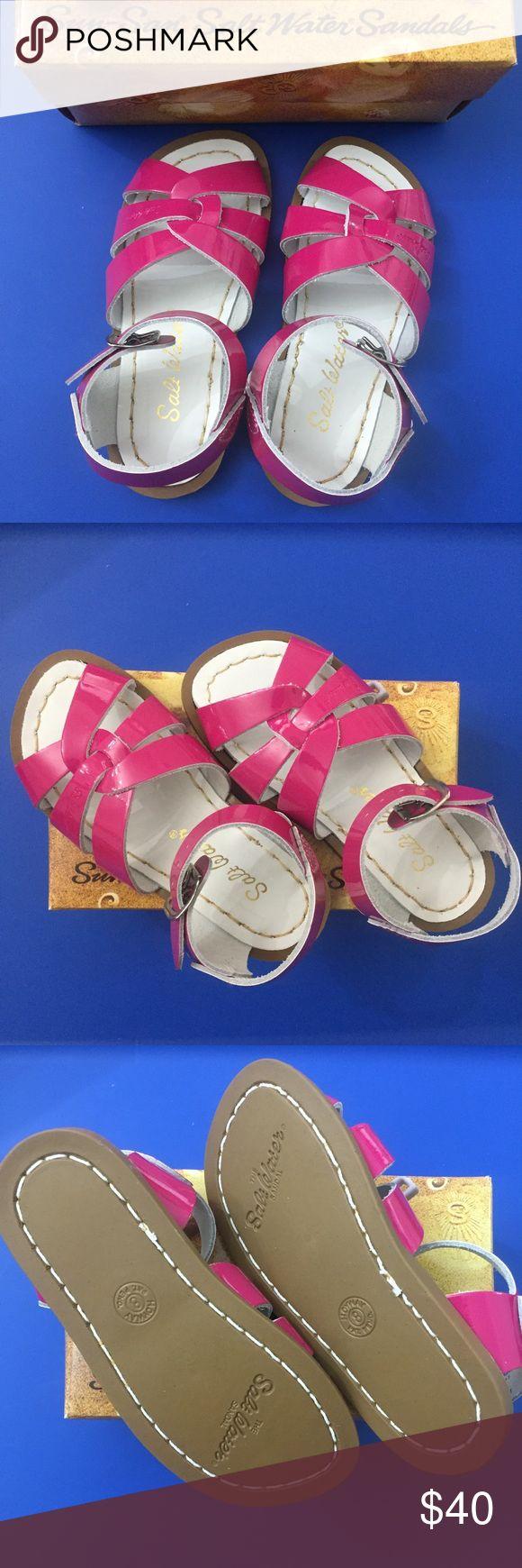 NIB Salt Water Sandals, Shiny Fuchsia, 8 NIB Salt Water Sandals, Shiny Fuchsia, 8 Salt Water Sandals by Hoy Shoes Sandals & Flip Flops