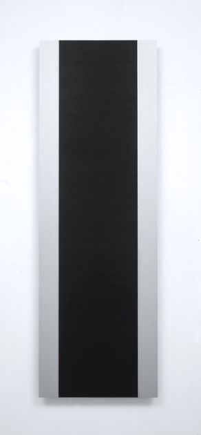 Frank Gerritz | Cool Struttin', 2000 | Paintstick on anodized Aluminium