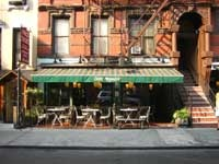 Cafe Mogador, East Village, NYC. Went there in 2008 with my friend Sarah and her friend Kari and had the best Moroccan food, yum.
