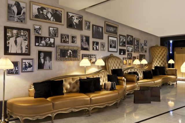 the movie industry history reflected at Fouquet's Barriere hotel Paris