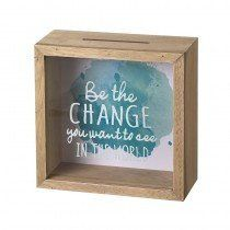 """Be the Change"" Money Box"