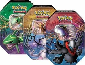 Pokemon 2012 Fall Legends Legendary EX Tin Set (3 Pokemon Tins) - PokeOrder.com